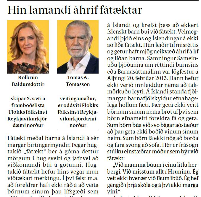 You are currently viewing Hin lamandi áhrif fátæktar